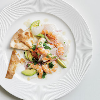 Red Snapper & Shrimp Ceviche.