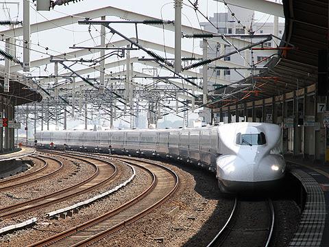 JR東海道新幹線 N700系新幹線電車「のぞみ」「ひかり」「こだま」