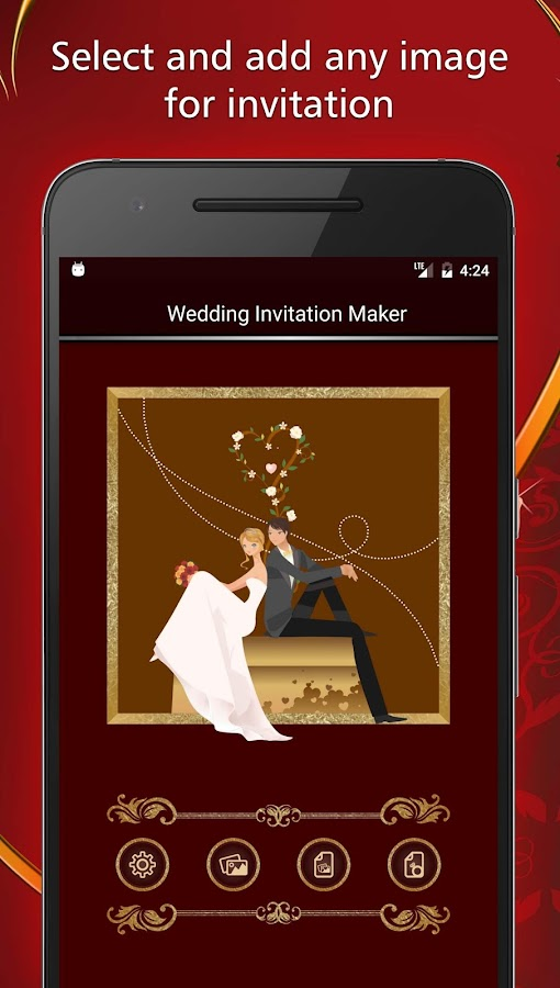 Wedding invitations card maker android apps on google play wedding invitations card maker screenshot stopboris Image collections