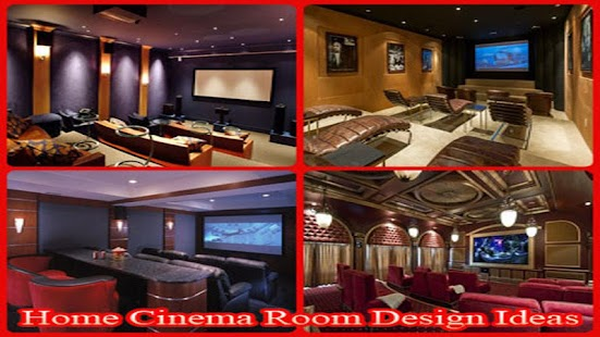 home cinema room design ideas - android apps on google play