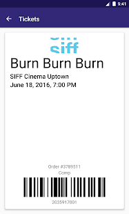 SIFF Mobile Tickets- screenshot thumbnail