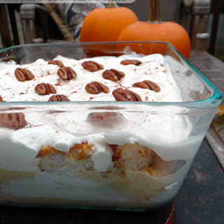 Pumpkin Maple Amaretto Trifle