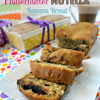 Fluffernutter Nutella Banana Bread