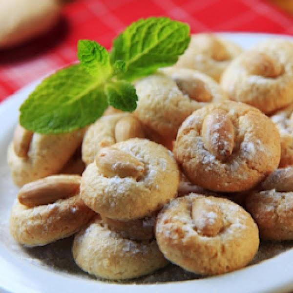 Glazed Almond Cookies Recipe