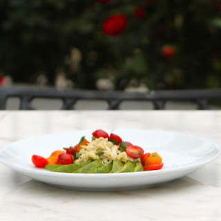 Crab Salad with Chili, Tomato and Avocado #SundaySupper Recipe