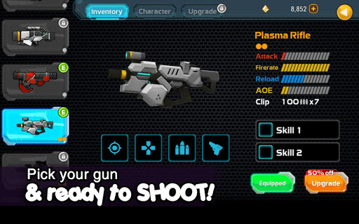 Galaxy Gunner: The Last Man Standing 3D Game  captures d'écran 2