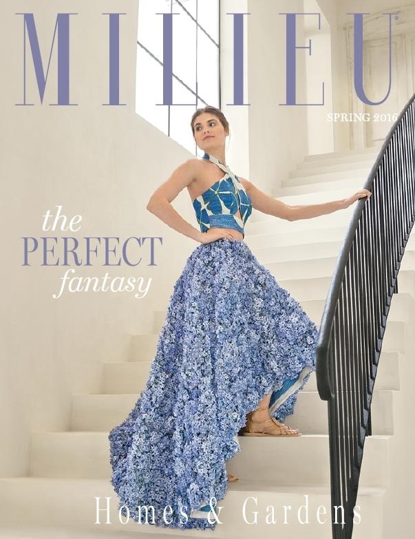 Milieu magazine cover, Spring 2016.