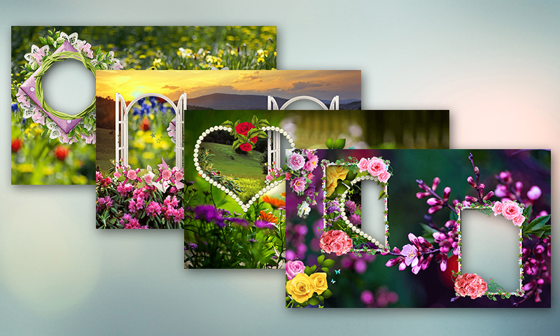 nature dual photo frames screenshot - Dual Picture Frame