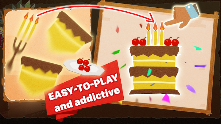 Chigiri: Paper Puzzle Android App Screenshot