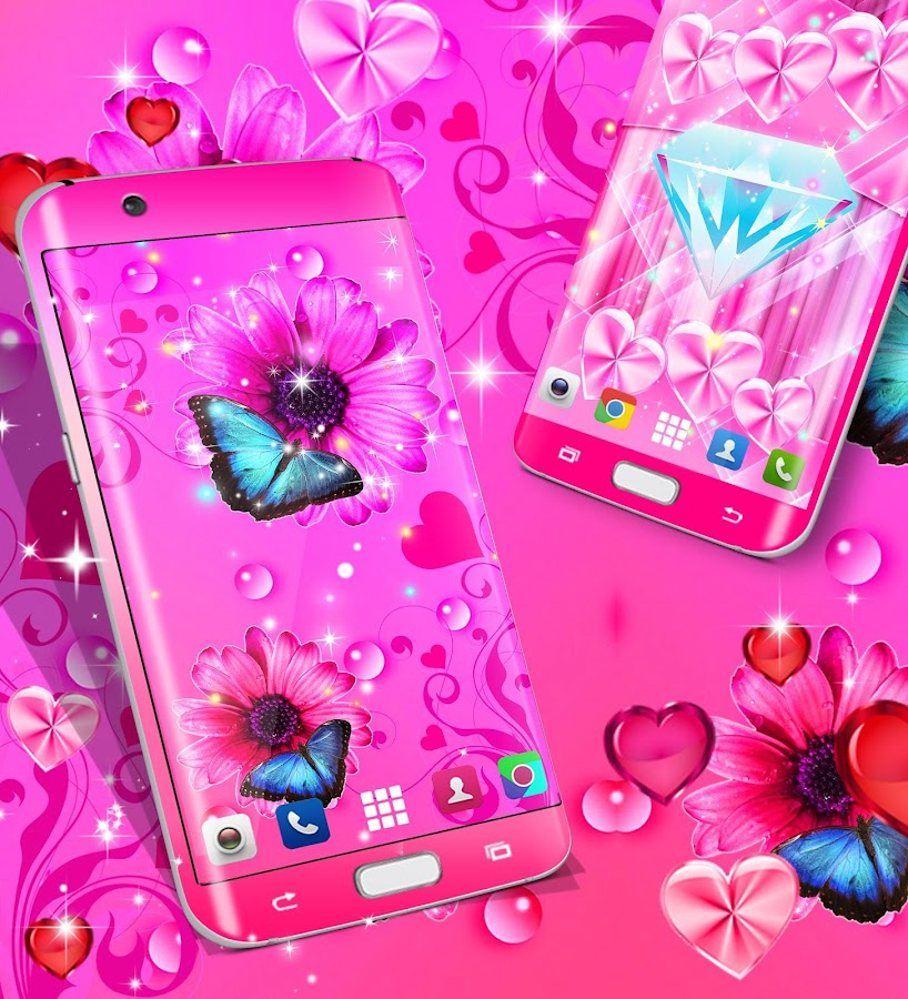 Free Hd Live Wallpapers For Android Phones Wallpapers For Girls Android Apps On Google Play