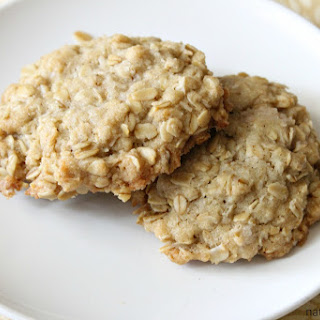 Vegan Coconut Oatmeal Cookies.