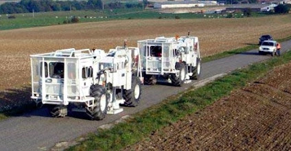 Photo: Camions vibreurs