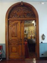 Photo: Capilla del obispado: Puerta de entrada