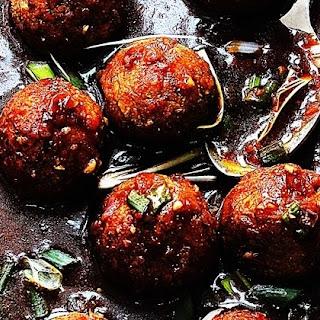 Low Fat Vegetable Manchurian Recipes