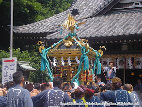 Photo: 【平成16年(2004) 本宮】 亀ヶ池八幡宮に到着。