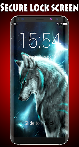 Wolf Lock Screen 1.0 screenshots 1