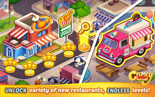 Crazy Chef: Fast Restaurant Cooking Games apkslow screenshots 8