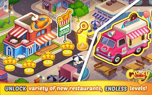 Crazy Chef Mod Apk 1.1.61 (Unlimited Currency) 8