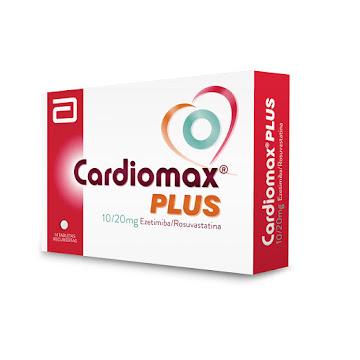 Cardiomax Plus 10/20mg Lafrancol ezetimiba rosuvastatina Caja x14tab.
