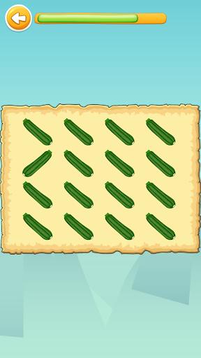 Carakuato frutas y verduras - juegos para niños capturas de pantalla 7