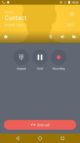 Acrobits Softphone Screenshot