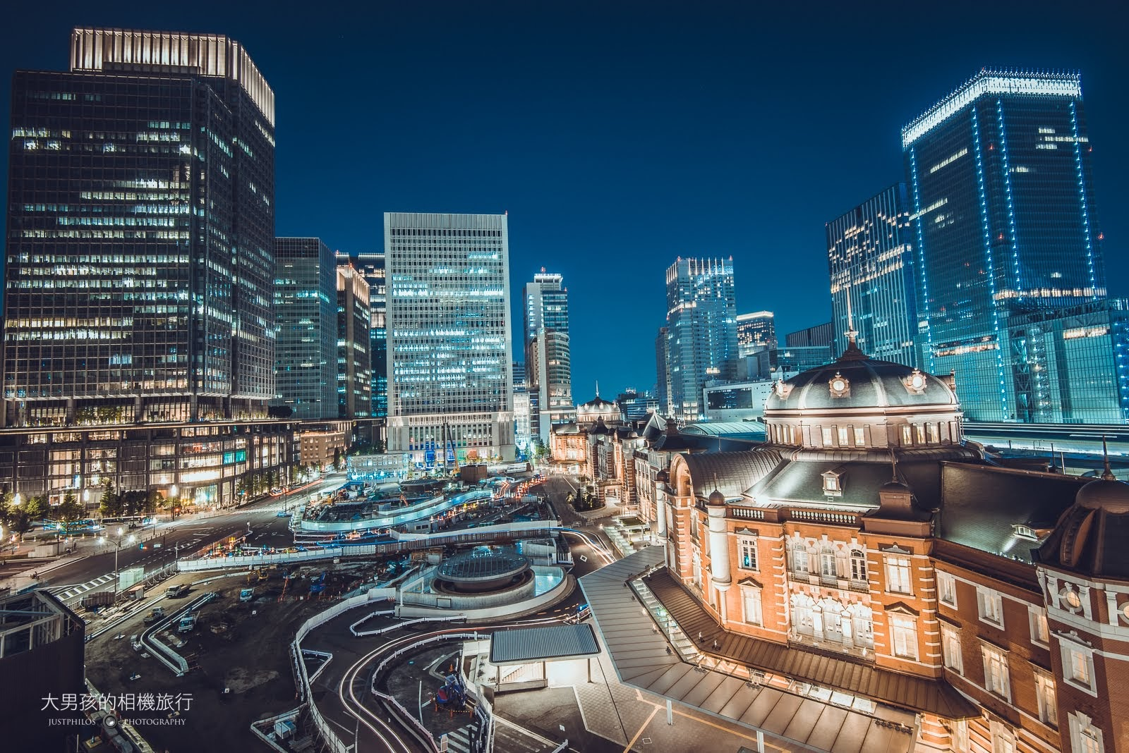 KITTE大樓是可免費欣賞東京車站夜景的推薦地點。