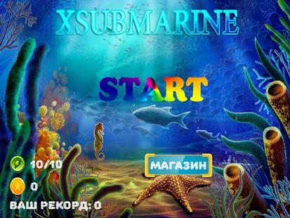 XSubmarine - náhled
