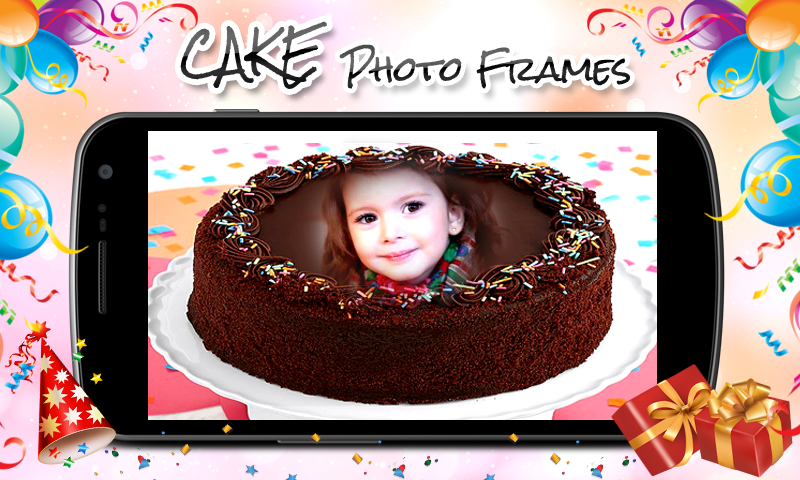 Cake Photo Frames New- screenshot