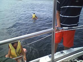 Photo: 子どもたちは海水浴