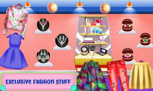 Shopping Mall For Rich Girls: Supermarket Cashier  screenshots 3