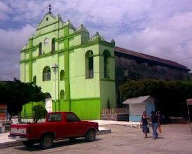 Photo: Iglesia de la ciudad de Ixtacomitan, Chis. Foto: Cortesia