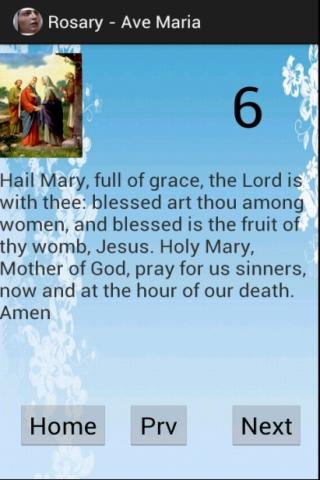 Скриншот Virtual Rosary Catholic