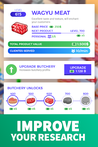 Idle Supermarket Tycoon - Tiny Shop Game modavailable screenshots 3