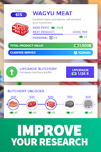 Idle Supermarket Tycoon MOD APK 2.2.6 [Unlimited Money] 3
