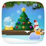 Christmas Weather Widget Theme 1.0 Apk