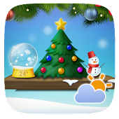 Christmas Weather Widget Theme