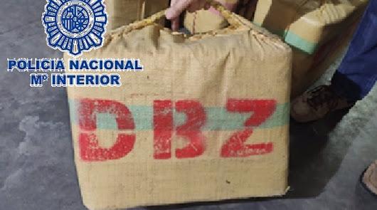 Cae una red internacional de hachís que exportaba la droga desde Almería