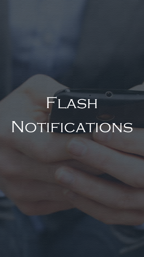 Flash Alerts On Call And SMS- screenshot