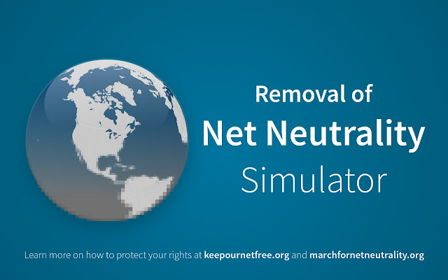 Removal of Net Neutrality Simulator