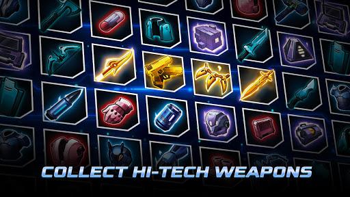 Cyber Fighters: Legends Of Shadow Battle apkpoly screenshots 4