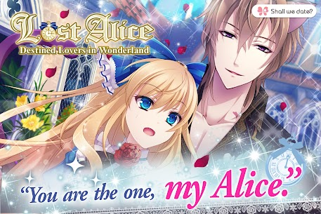 Lost Alice in Wonderland Shall we date otome games Apk 2