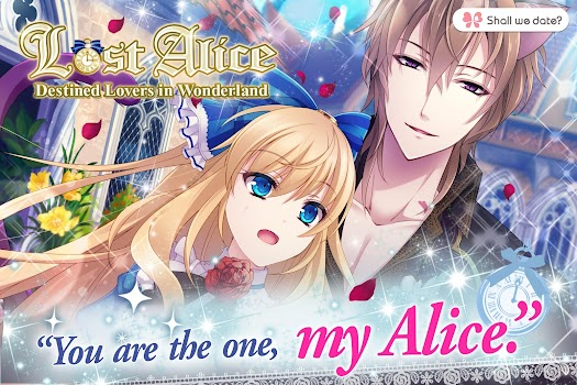 Lost Alice in Wonderland Shall we date otome games