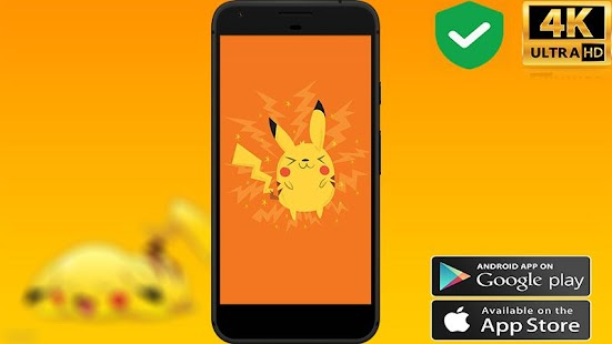 wallpapers for Pikachu - náhled