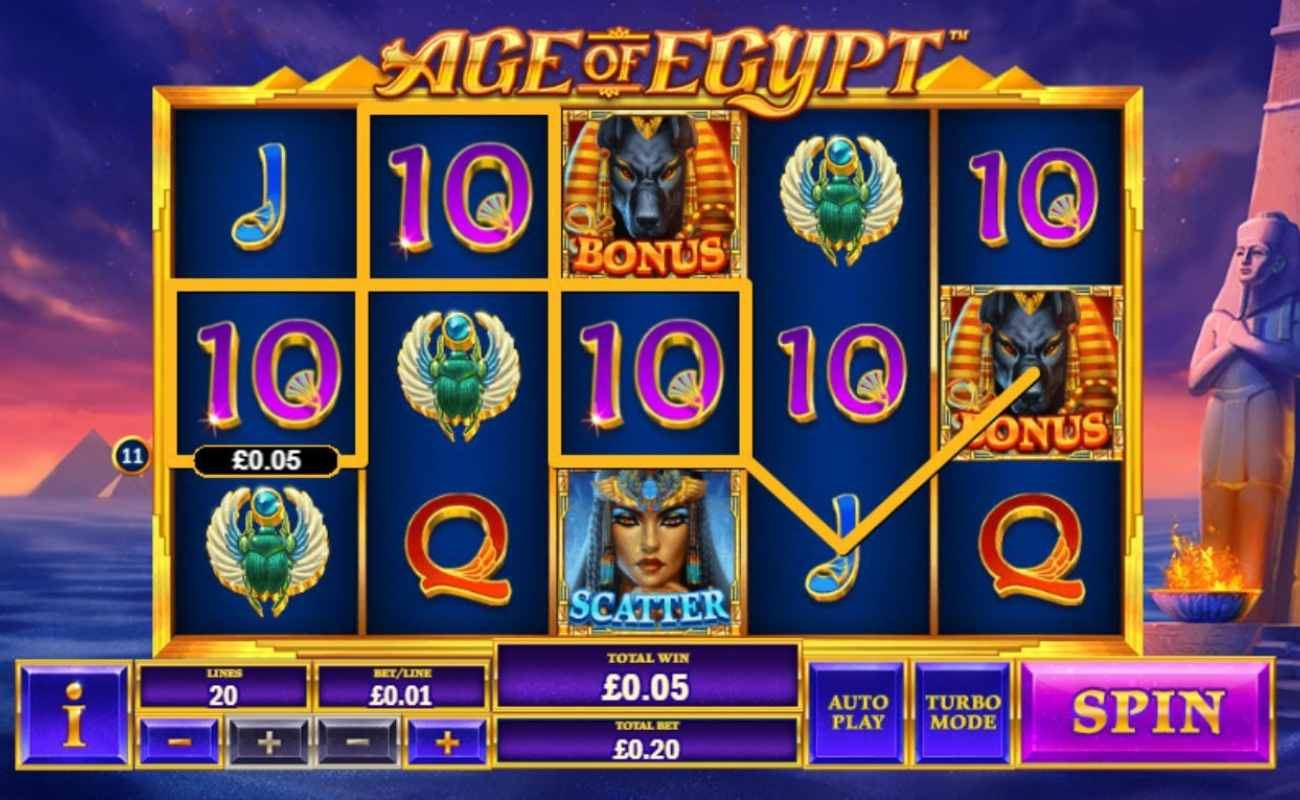 Age of Egypt by Playtech online slot casino game