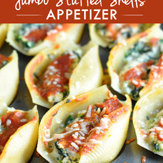 Stuffed Pasta Shells Appetizer Recipes