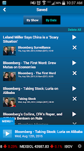 Bloomberg Radio+- screenshot thumbnail