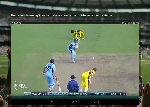Cricket Australia Live 4.5.1 screenshots 7
