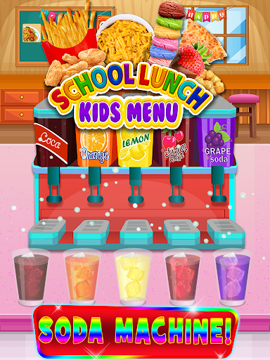 School Lunch Food - Kids Menu Pizza & Ice Cream 1.1 screenshots 5