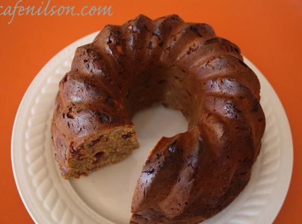 Pumpkin Raisin Cake Recipe