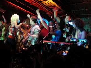 Photo: CULTS turned their last song into an on-stage dance party.